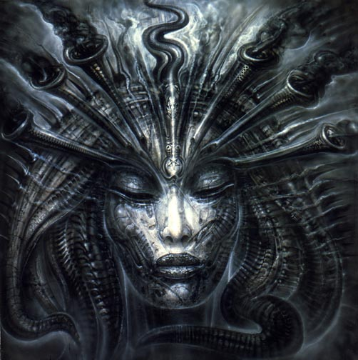 hr giger art. I am talking about artwork,